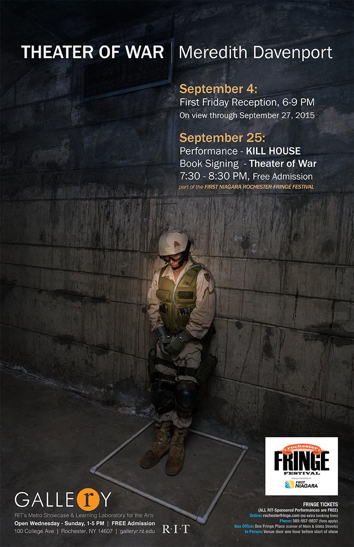 Meredith Davenport – Theater of War | September 4-27, 2015